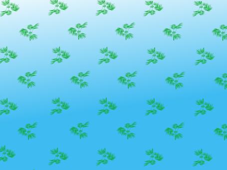 palms blue