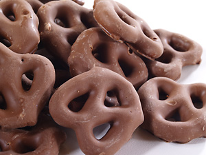 Cupcakes and Wild Ponies   Nuts.com chocolate covered pretzels