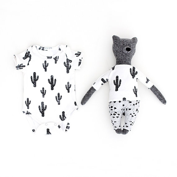 Rocky Racoon Matching #cactus #baby #onesie - cupcakesandwildponies