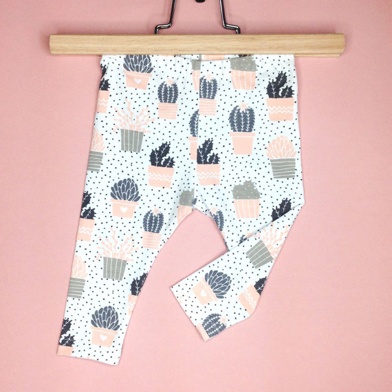Creepy and Cute #baby #cactus #leggings - cupcakesandwildponies