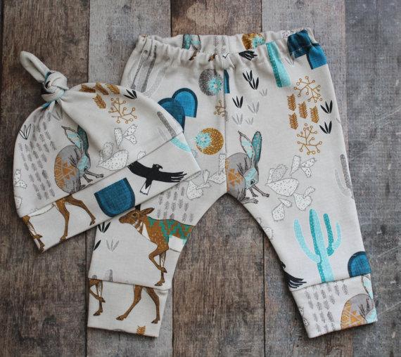 Animal and !Cactus Print #Baby #Leggings - Cupcakesandwildponies