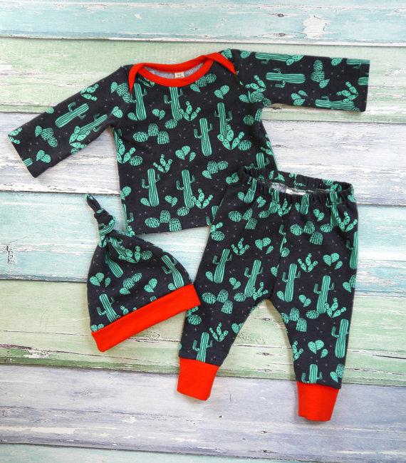 #baby #cactus #pajamas - cupcakesandwildponies
