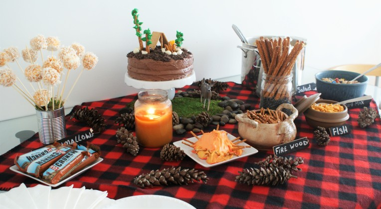 #camping theme #birthdayparty - cupcakesandwildponies blog