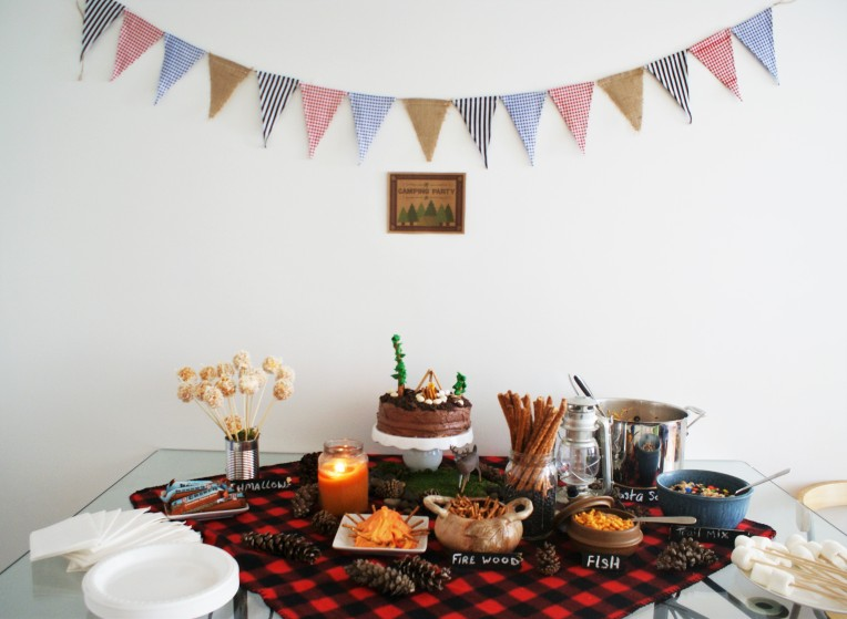 #camping #party #decorate - cupcakesandwildponies blog