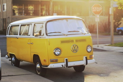 #yellow #vwvan #colorinspiration