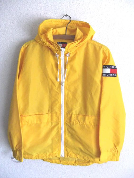 #yellow #vintagetommyhilfiger #90sfashion