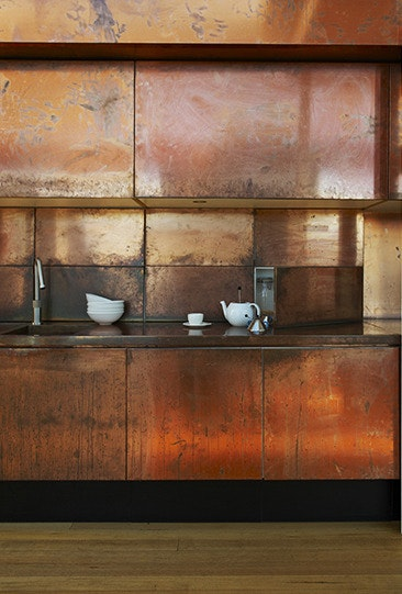 #modernkitchen #rustcolor