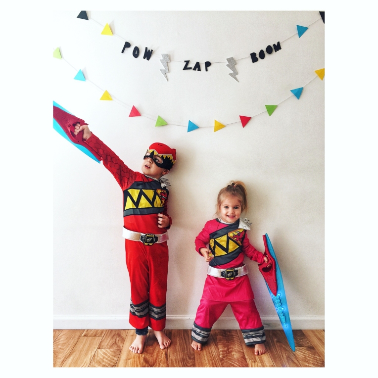 Power Rangers 5th Birthday Party #kidsbirthdayparty #powerrangers #dinocharge #zap