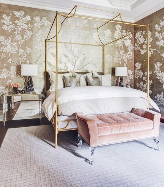 February Color of the month: #gold #decor #design #color #inspiration #ideas