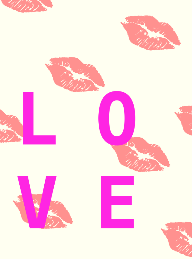 love lips Love poster project #love #grlpwr #galentine #spreadlove