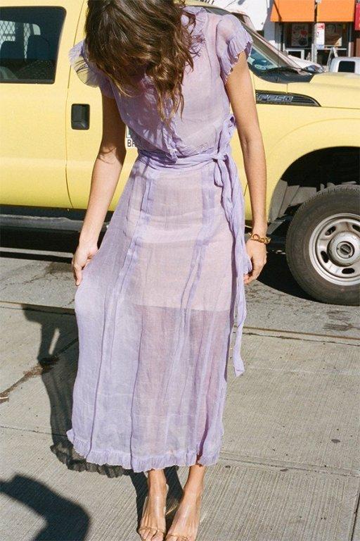April color of the month: Lavender #purple #color #colorinspiration #designinspiration #dress #fashion