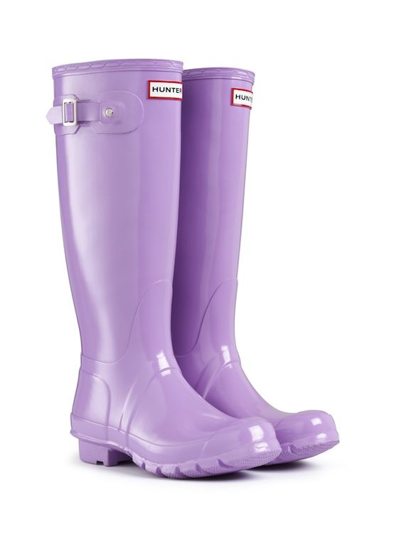 April color of the month: Lively Lavender #colorinspiration #designinspiration #lavender #purple #wellies #boots #fashion