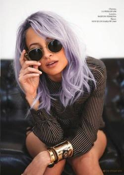 April color of the month: Lavender #purple #color #colorinspiration #designinspiration #hair #fashion