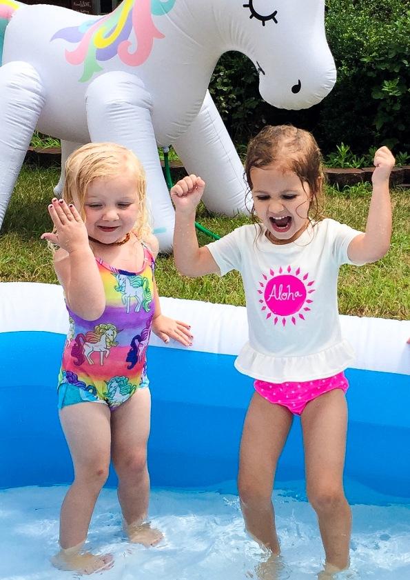 Kid's Birthday Party #kidsparty #partyplanning #momlife #unicorn