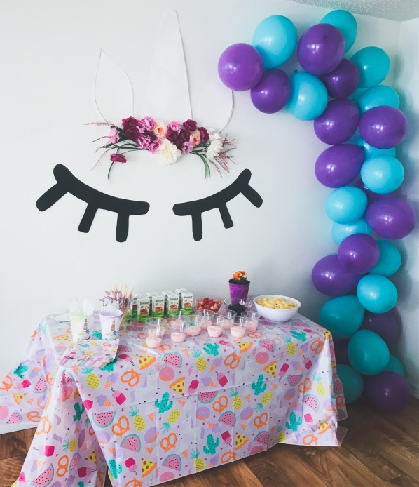 Kid's Birthday Party #kidsparty #partyplanning #momlife #unicorn