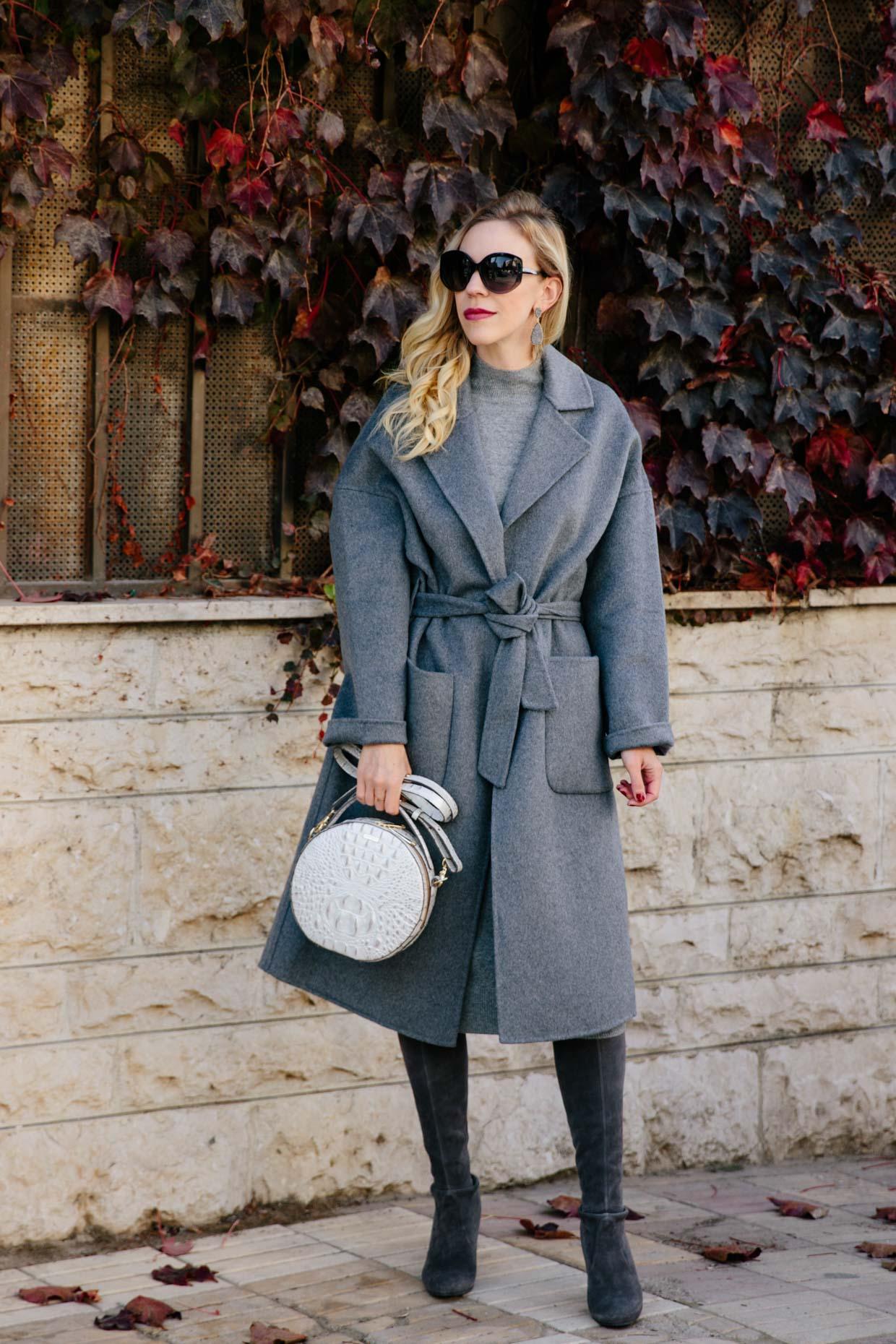 Monochromatic Outfit #fashion #monochromestyle #gray