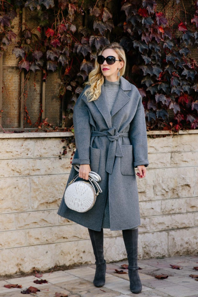 Monochromatic Outfit #fashion #monochromestyle #gray