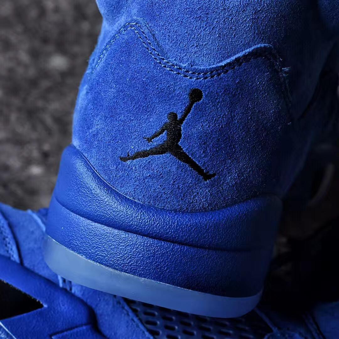 Electric blue Air Jordan