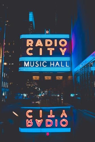 Electric Blue Music Hall #electricblue #colorofthemonth #blue #colorinspiration #designinspiration #lovestruckdesignhouse