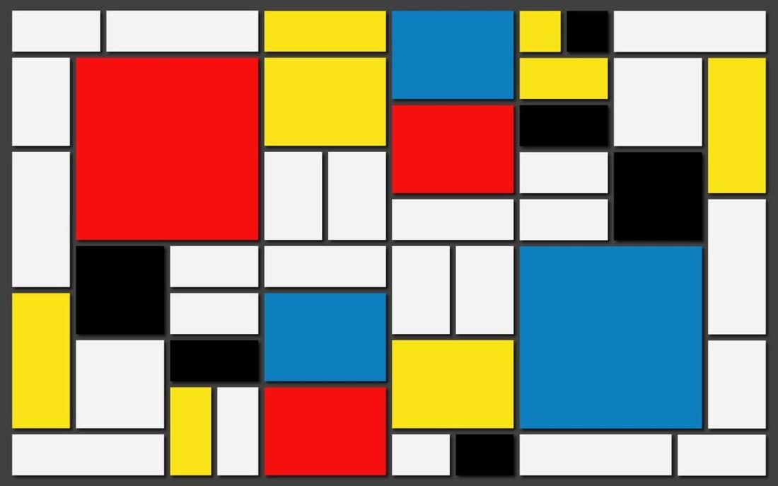 Bauhaus color block