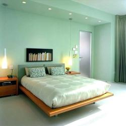 Sea foam green bedroom #interiordesign #moderndecor #greenaesthetic
