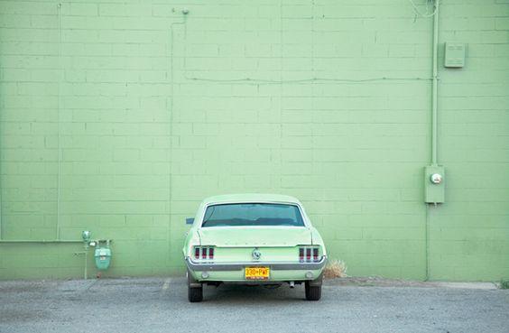 vintage car #seafoam #greenaesthetic #pastelgreen #retrocar
