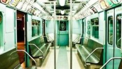 Green Subway interior